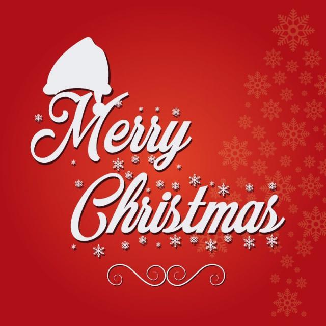 640x640 Merry Christmas Santa Cap, Christmas Vector, Santa Vector, Cap