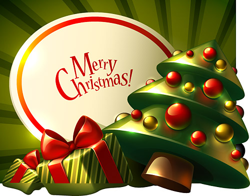 500x393 Merry Christmas Vector Free Download Image