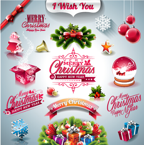 Merry Christmas Vector Free Download