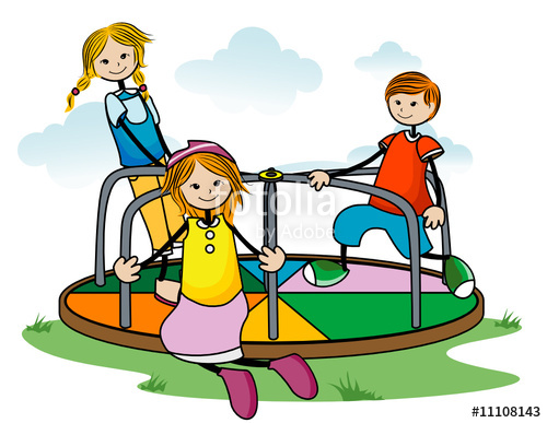 500x387 Merry Go Round Kids Stock Image And Royalty Free Vector Files On