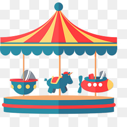 260x260 Merry Go Round Png, Vectors, Psd, And Clipart For Free Download