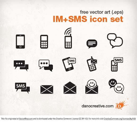 580x516 Free Text Message Icon Vector 64860 Download Text Message Icon