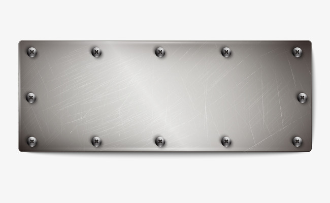 650x400 Metal Plate, Steel Plate, Metallic Feel, Silver Plate Png And