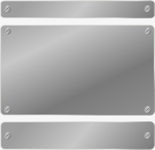 650x630 Metal Plate Signs, Steel Plate, Metallic Feel, Silver Plate Png