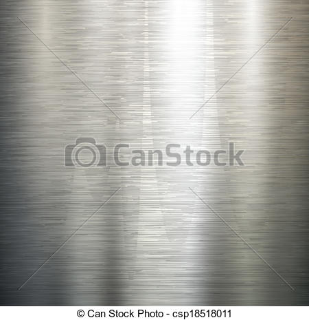 450x465 Polished Metal Texture. Vector Polished Metal, Steel Texture.