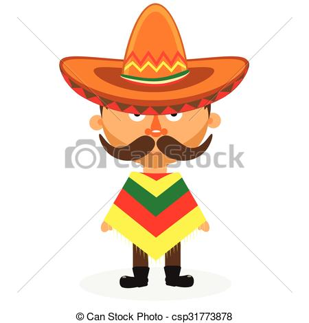 450x470 Mexican In A Sombrero. Mexican Hat, Sombrero, Mexican Hat Isolated