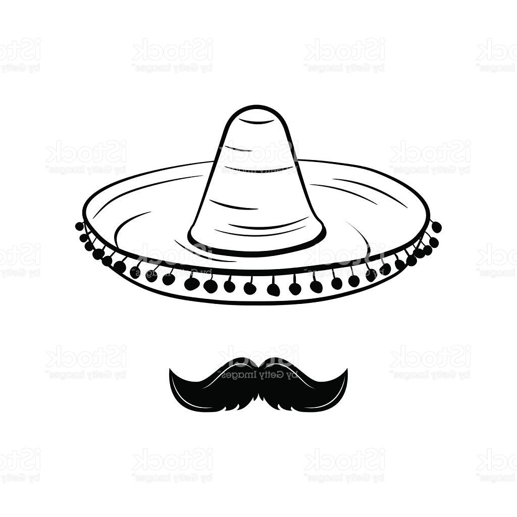 1024x1024 Hd Sombrero And Mustache Mexico Hat Traditional Mexican Clothing