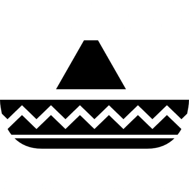 626x626 Hat Of Horseman Typical Of Mexico Icons Free Download