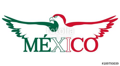 500x278 Mexico Aguila Bandera Stock Image And Royalty Free Vector Files