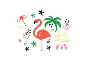286x200 Miami Free Vector Art