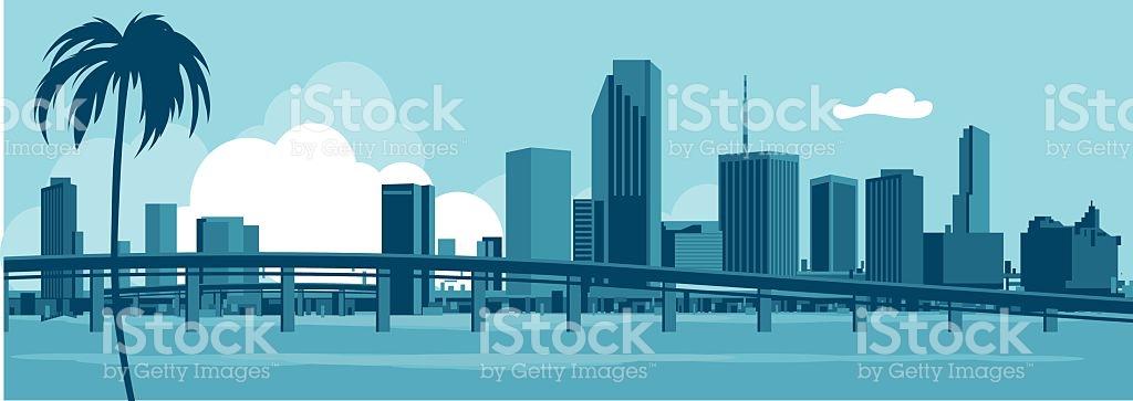 1024x363 Miami Clipart Vector