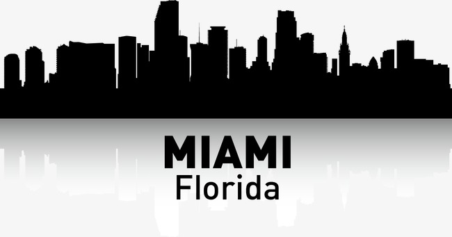 650x341 Miami, City Silhouette, City, City Png And Vector For Free Download