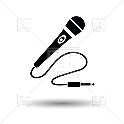 400x400 Karaoke Microphone Icon Vector Image Vector Artwork Of Signs