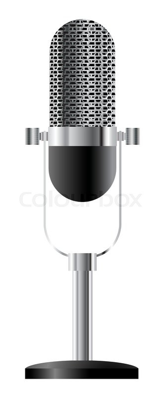 Mic Stand Vector