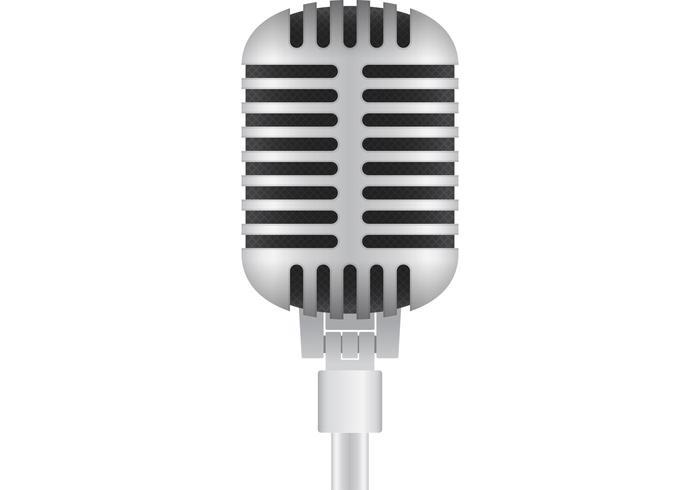 700x490 Microphone Free Vector Art