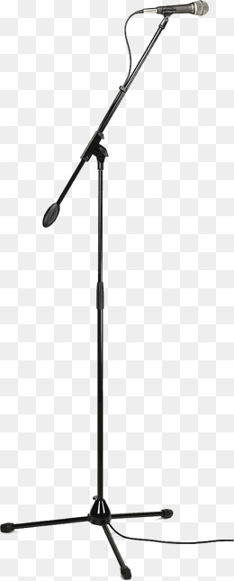 260x645 Microphone Stand Png, Vectors, Psd, And Clipart For Free Download