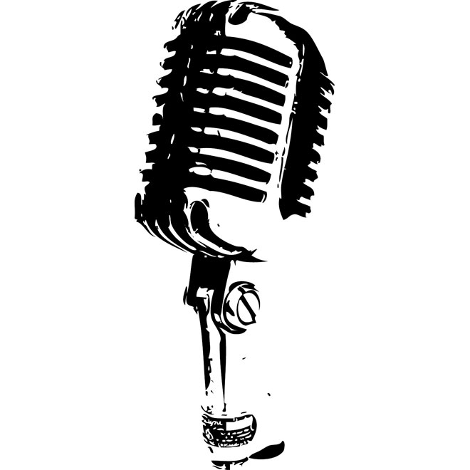 660x660 Retro Microphone Image Free Vector Free Vectors Ui Download