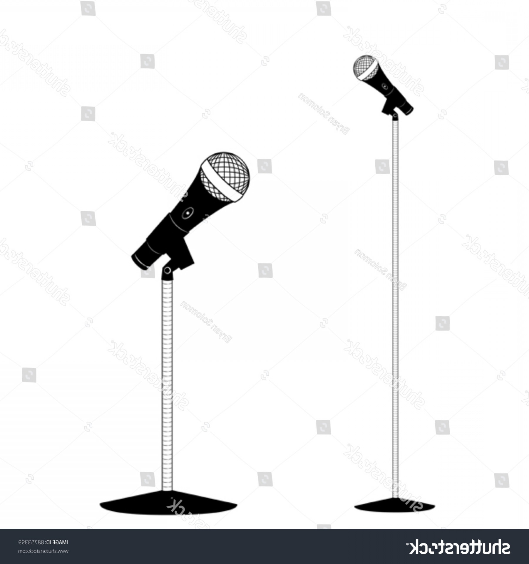 1800x1920 Vector Microphone Stand Shopatcloth