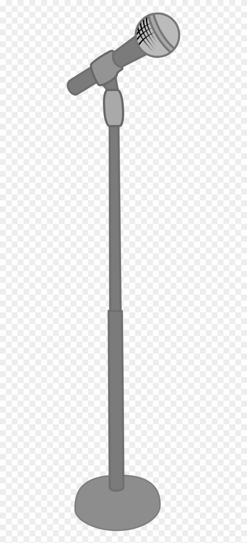 840x1843 Mic Stand Vector By Meteor Venture