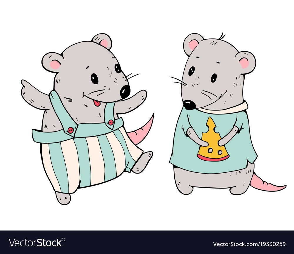 1000x865 Cartoon Mice Vector 19330259 Images 2