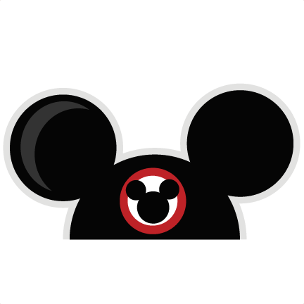 Mickey Mouse Ears Vector