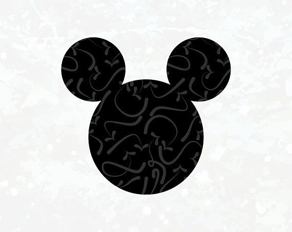 570x453 Mickey Mouse Head Vector