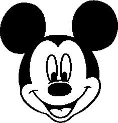 235x244 Mickey Mouse Logo 1785e6070b Seeklogo Com Head Vector