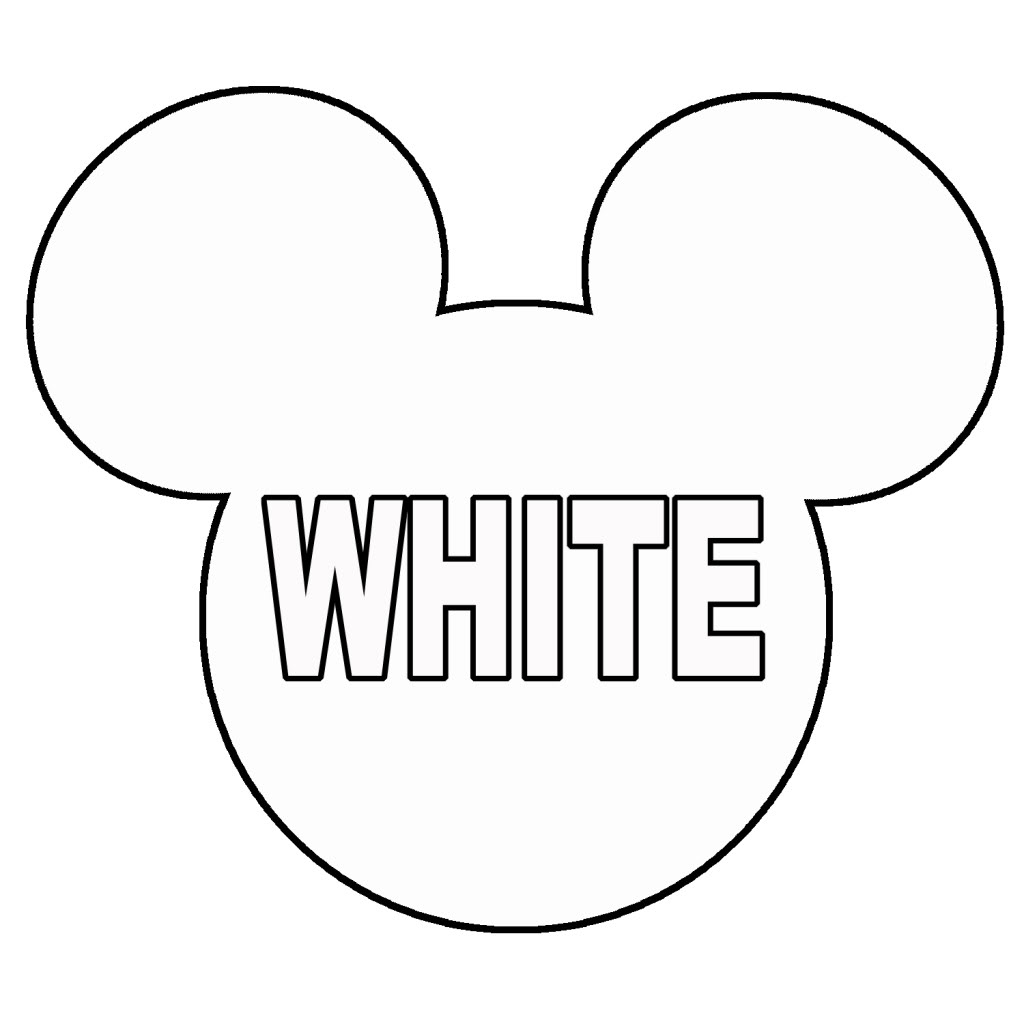 1024x1024 Minnie Mouse Head Printable Mickey Mouse Head Clip Art
