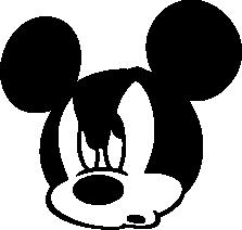 223x212 Walt Disney Silhouettes Silhouettes Of Walt Disney