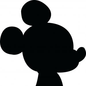 300x300 Disney Vector Illustration Mickey Mouse Isolated White Background