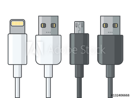 500x375 Lightning Cable Usb Micro Usb