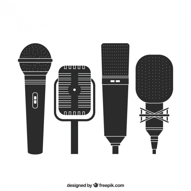 626x626 Retro Microphones Vector Free Download