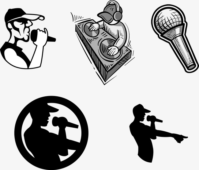 650x554 Vector Music Logo, Vector Material, Music Material, Microphone Png