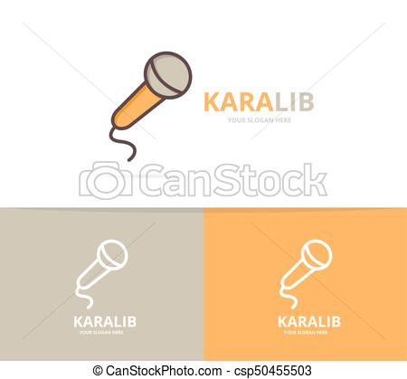 450x419 Vector Of Microphone Logo. Unique Karaoke And Stand Up Comedy