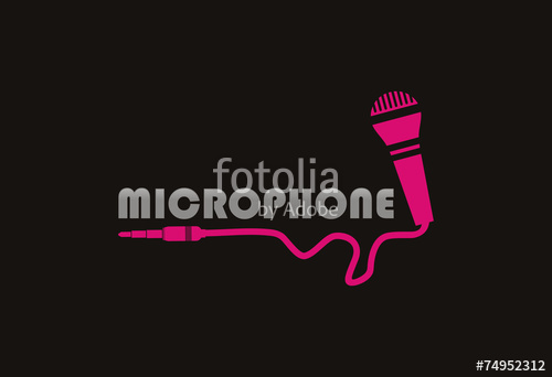 500x342 Microphone Logo Vector Stock Image And Royalty Free Vector Files