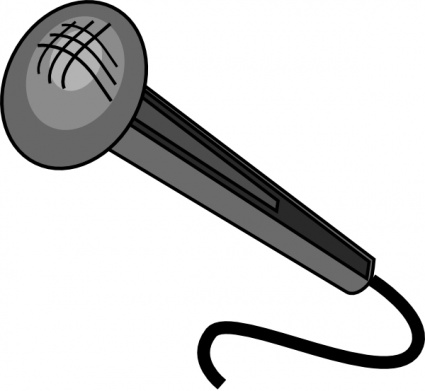 425x391 Free Download Of Microphone Vector Graphics And Illustrations