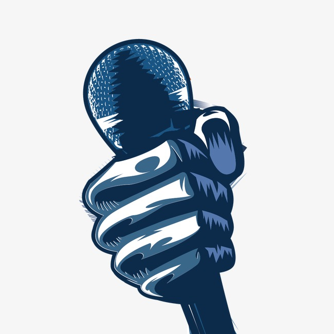 650x650 Microphone In Hand, Hand, Microphone, Vector Hand Png And Vector