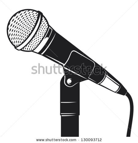 450x467 Rostrum With Microphone Royalty Free Vector Clip Art Image Free