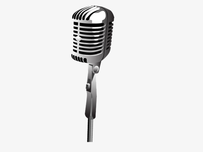 650x487 Silver Metallic Microphone Vector, Vector, Metal, Silver Png And