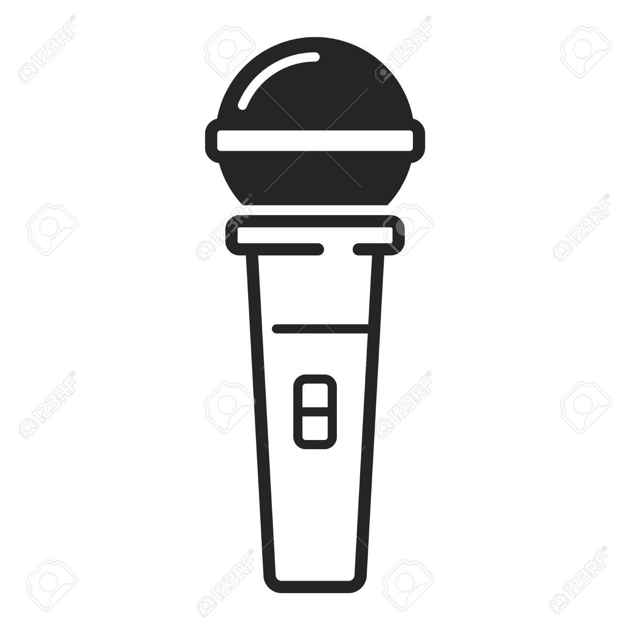 1300x1300 Free Microphone Vector Icon 148496 Download Microphone Vector