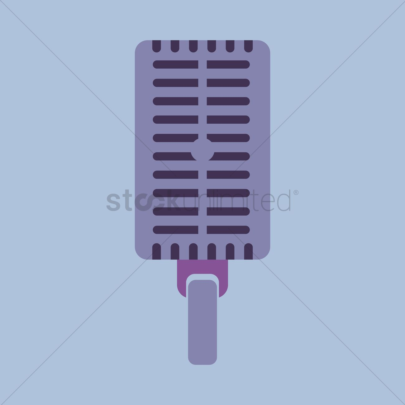 1300x1300 Free A Microphone Vector Image