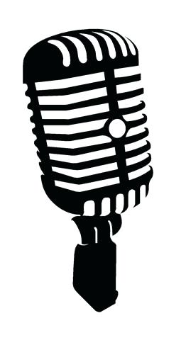 262x480 Radio Microphone Clip Art Old Style Microphone Vector Clip Art