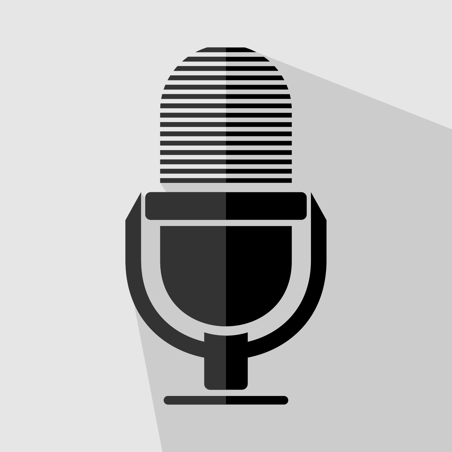 1500x1500 Vector For Free Use Microphone Icon