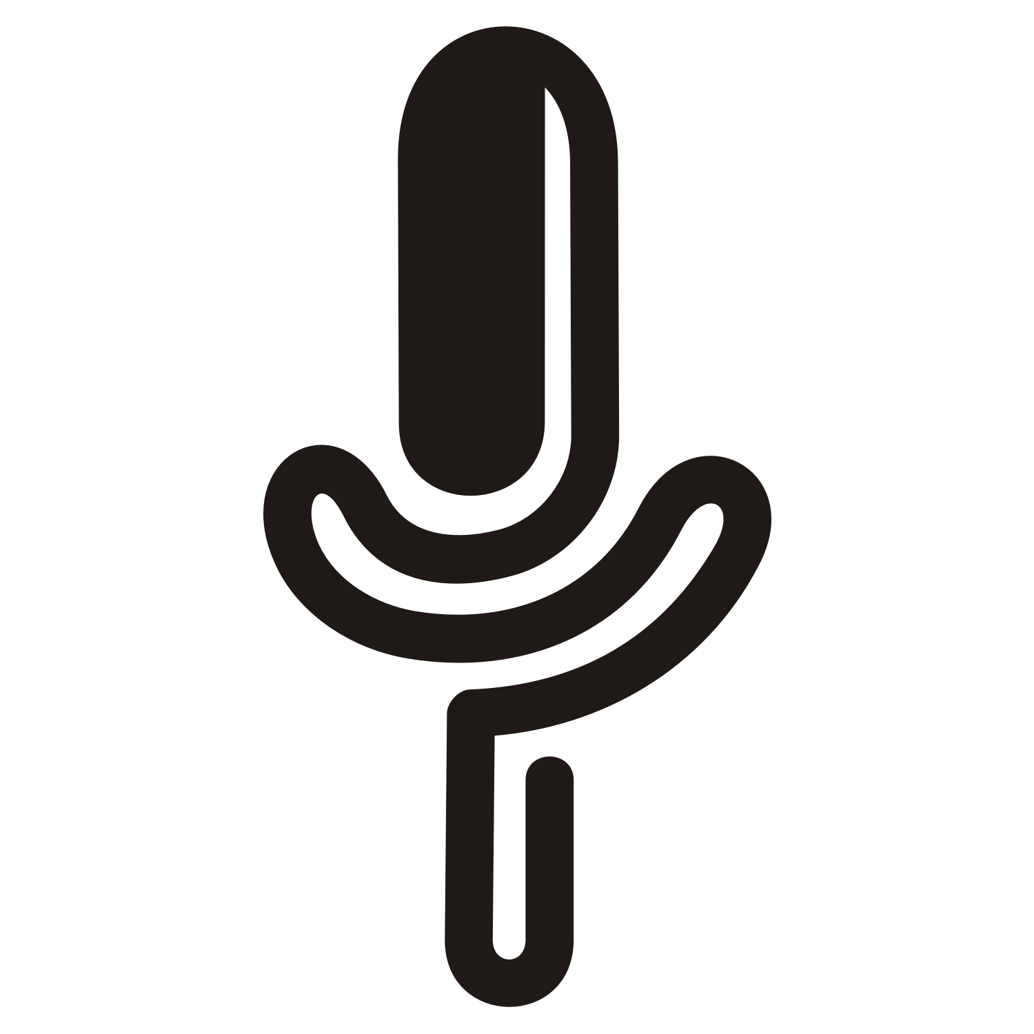 1500x1500 Vector For Free Use Microphone Vector