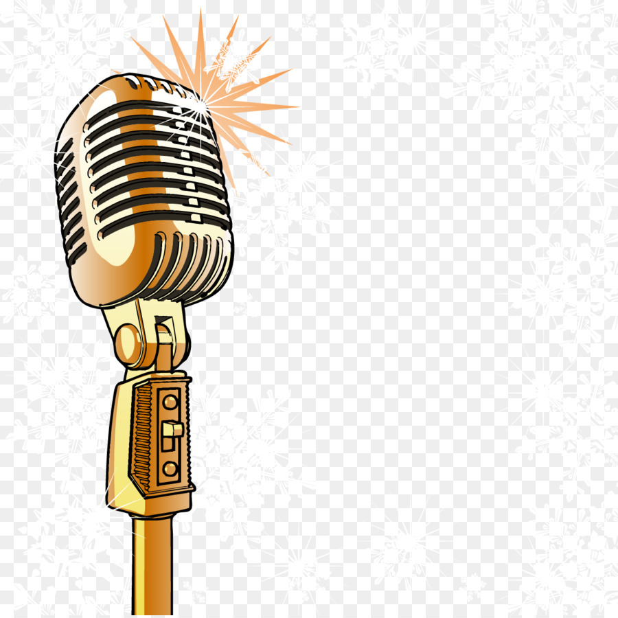 900x900 Collection Of Microphone Clipart Vector High Quality, Free