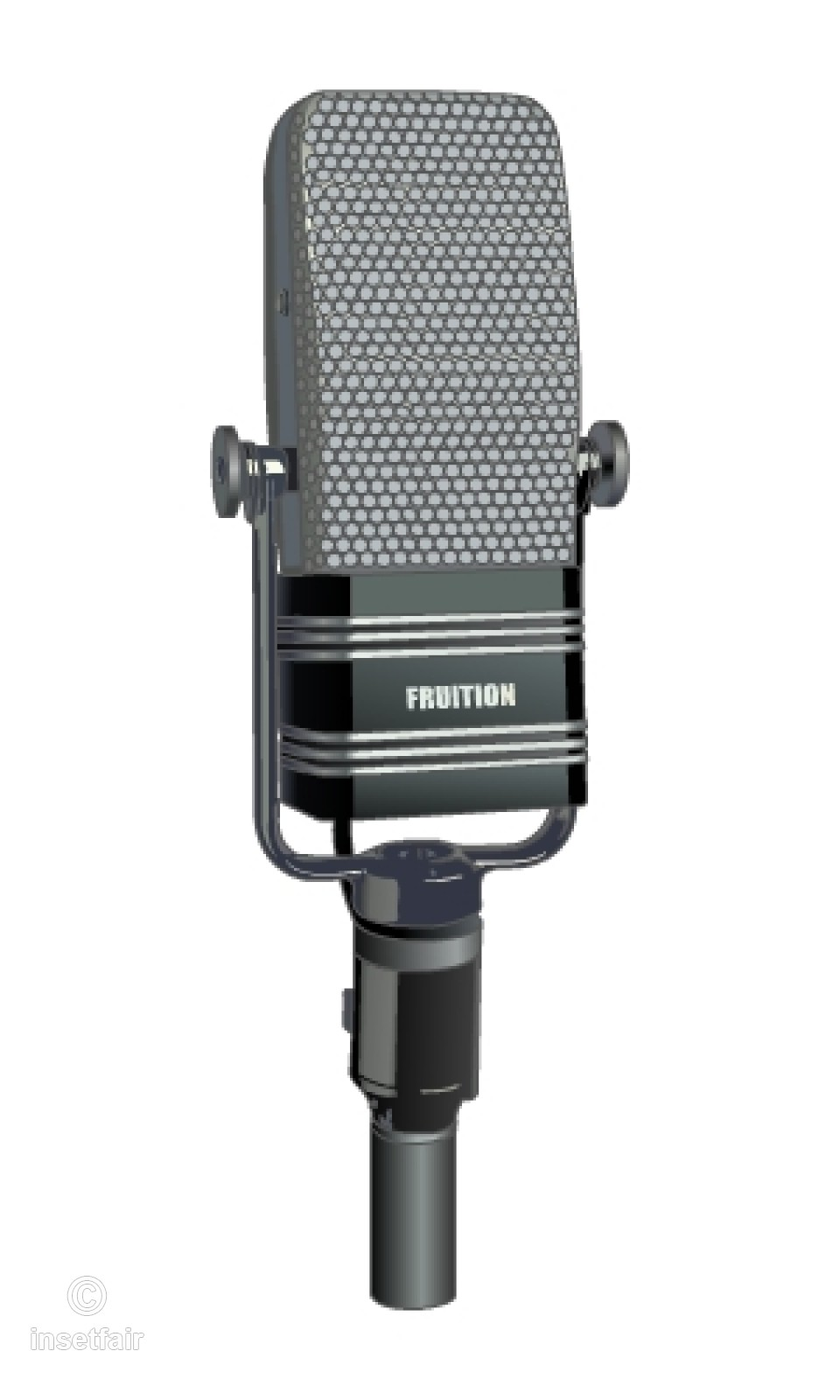 960x1600 Recording Studio Vocal Mic Free Vector Png Image