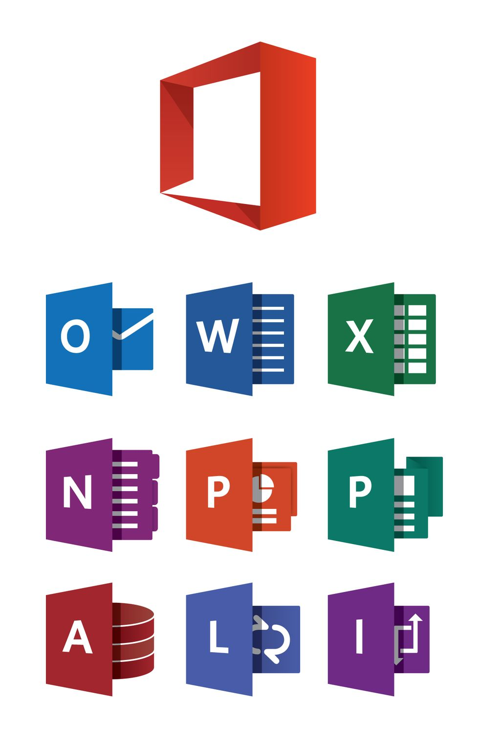 Microsoft Office Logo Vector