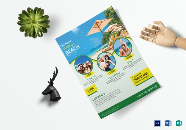 600x420 Awesome Free Travel Brochure Templates For Microsoft Word Travel