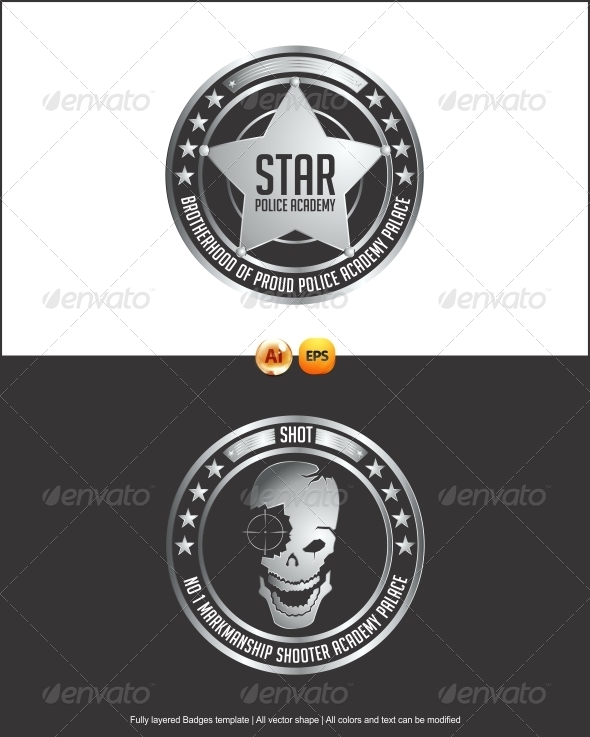 590x737 Gaming Badges Vector By Changyik Graphicriver