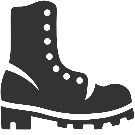 512x512 19 Military Combat Boots Clip Art Stock Huge Freebie! Download For
